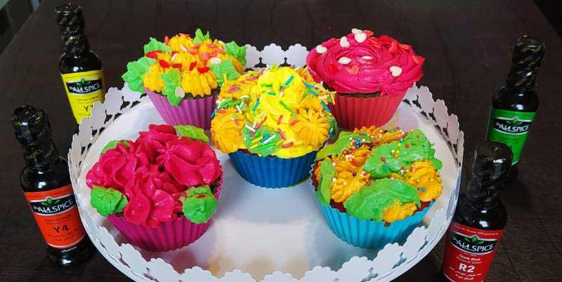 طرز تهیه کاپ کیک